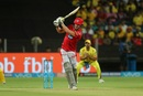 David Miller attempts to play the pull shot, Chennai Super Kings v Kings XI Punjab, IPL 2018, Pune, May 20, 2018