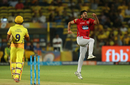 Mohit Sharma struck in his first over, Chennai Super Kings v Kings XI Punjab, IPL 2018, Pune, May 20, 2018