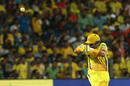 Suresh Raina puts the short ball away, Chennai Super Kings v Kings XI Punjab, IPL 2018, Pune, May 20, 2018