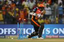 Shikhar Dhawan was bowled off the first ball, Sunrisers Hyderabad v Chennai Super Kings, IPL 2018, Mumbai, May 22, 2018