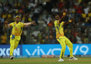 Dwayne Bravo's celebratory jig, Sunrisers Hyderabad v Chennai Super Kings, IPL 2018, Mumbai, May 22, 2018