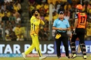Ravindra Jadeja had Manish Pandey caught and bowled, Sunrisers Hyderabad v Chennai Super Kings, IPL 2018, Mumbai, May 22, 2018