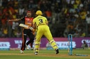 Siddarth Kaul exults after taking two wickets in two balls, Sunrisers Hyderabad v Chennai Super Kings, Qualifier 1, IPL 2018, Mumbai, May 22, 2018