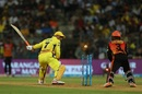 MS Dhoni was done in by a Rashid Khan googly, Sunrisers Hyderabad v Chennai Super Kings, Qualifier 1, IPL 2018, Mumbai, May 22, 2018