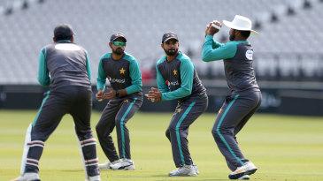 Pakistan work on their slip catching