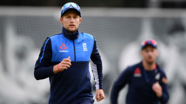 Joe Root prepares for the first Test of the English season