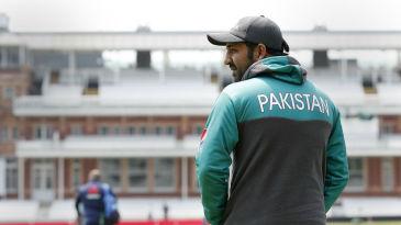 Pakistan's captain, Sarfraz Ahmed