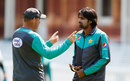 Mickey Arthur chats with Rahat Ali, Lord's, May 23, 2018