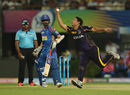 Piyush Chawla extends his arm to take a catch, Kolkata Knight Riders v Rajasthan Royals, IPL 2018, Eliminator, Kolkata, May 23, 2018