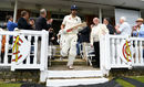 Alastair Cook emerges from the Lord's pavilion, England v Pakistan, 1st Test, Lord's, 1st day, May 24, 2018