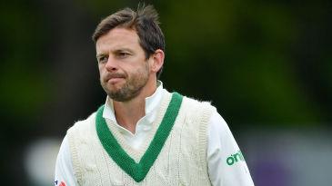Ed Joyce in that cherished Ireland Test sweater
