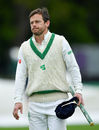 Ed Joyce in that cherished Ireland Test sweater, Ireland v Pakistan, Malahide, May 15, 2018