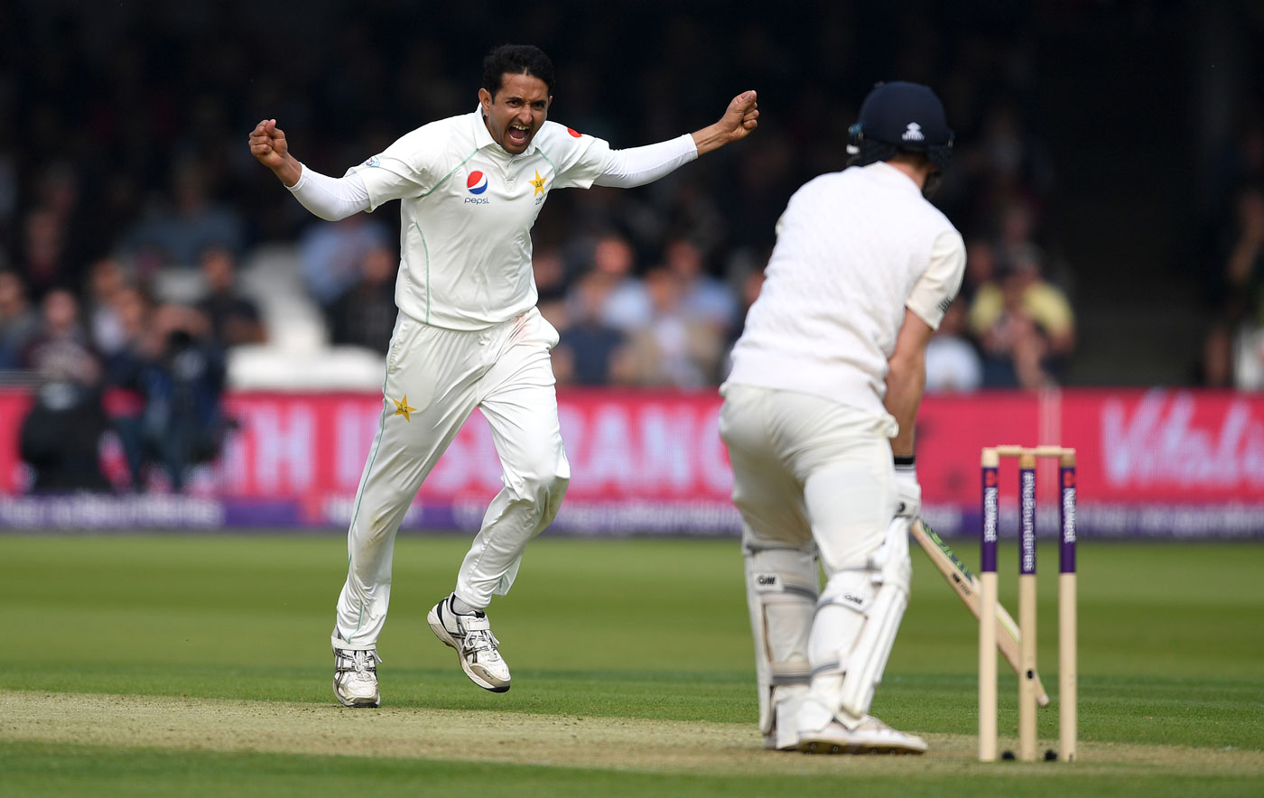 Mohammad Abbas and Hasan Ali impress in maiden appearance at Lord's