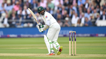 Azhar Ali anchored Pakistan's batting on the second morning