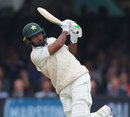 Asad Shafiq goes through the leg side, England v Pakistan, 1st Test, Lord's, 2nd day, May 25, 2018