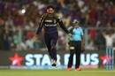 Kuldeep Yadav is ecstatic after dismissing Kane Williamson, Kolkata Knight Riders v Sunrisers Hyderabad, IPL 2018, Qualifier 2, Kolkata, May 25, 2018