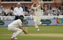 Dominic Bess bowls on debut, England v Pakistan, 1st Test, Lord's, 2nd day, May 25, 2018