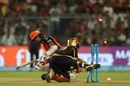 Dinesh Karthik effects a terrific stumping to remove Wriddhiman Saha, Kolkata Knight Riders v Sunrisers Hyderabad, IPL 2018, Qualifier 2, Kolkata, May 25, 2018