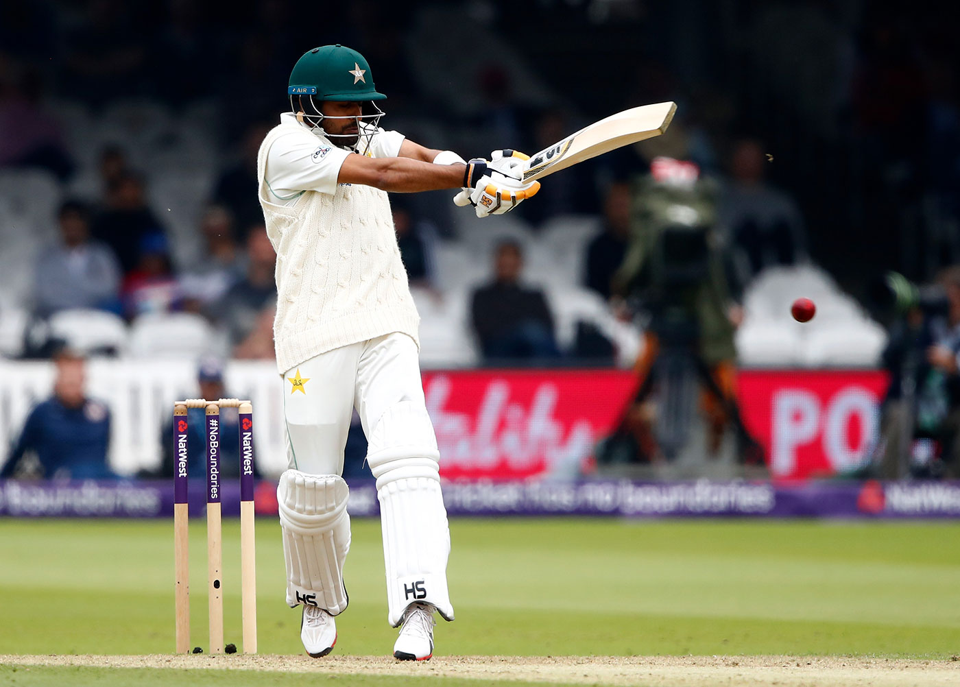 Pakistan look to capitalize on an impressive 166 lead after a solid batting display against England on Day 2 at Lord's