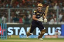 Chris Lynn sets off for a run, Kolkata Knight Riders v Sunrisers Hyderabad, IPL 2018, Qualifier 2, Kolkata, May 25, 2018