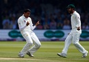 Mohammad Abbas is ecstatic after picking up a wicket, England v Pakistan, 1st Test, Lord's 4th day, May 27, 2018