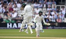 Haris Sohail and Imam-ul-Haq celebrate Pakistan's victory in the first Test, England v Pakistan, 1st Test, Lord's 4th day, May 27, 2018