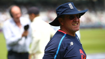 Trevor Bayliss surveys the wreckage of another England defeat