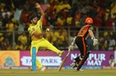 Shardul Thakur in action at the IPL 2018 final, Chennai Super Kings v Sunrisers Hyderabad, IPL 2018 final, Mumbai, May 27, 2018