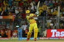 Faf du Plessis targets the off side, Chennai Super Kings v Sunrisers Hyderabad, IPL 2018 final, Mumbai, May 27, 2018