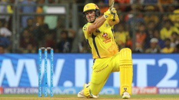 Shane Watson launches one