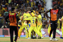 Contrasting emotions were on show after CSK sealed their third IPL title, Chennai Super Kings v Sunrisers Hyderabad, IPL 2018, final, Mumbai, May 27, 2018