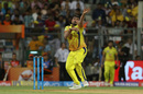 Karn Sharma bowls, Chennai Super Kings v Sunrisers Hyderabad, IPL 2018, final, Mumbai, May 27, 2018