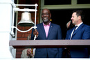 Viv Richards rings the ball at Lord's, World XI v West Indies XI, Lord's, May 31, 2018