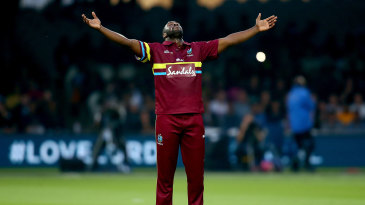 Andre Russell struck in his first over