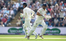 Alastair Cook and Keaton Jennings run between the wickets, England v Pakistan, 2nd Test, Headingley, June 1, 2018