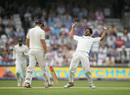 Hasan Ali struck late in the day to remove Alastair Cook, England v Pakistan, 2nd Test, Headingley, June 1, 2018
