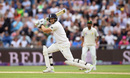 Dawid Malan leans forward to drive, England v Pakistan, 2nd Test, Headingley, June 2, 2018