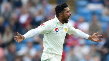 Mohammad Amir dismissed Dawid Malan straight after tea