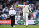 Shadab Khan celebrates his first wicket in the match, England v Pakistan, 2nd Test, Headingley, June 2, 2018