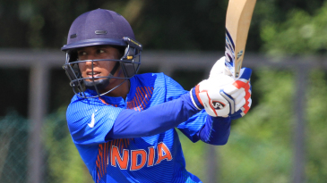 Mithali Raj flays one on the front foot