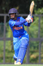 Mithali Raj flays one on the front foot, India v Malaysia, Women's T20 Asia Cup 2018, May 3, 2018, Kuala Lumpur