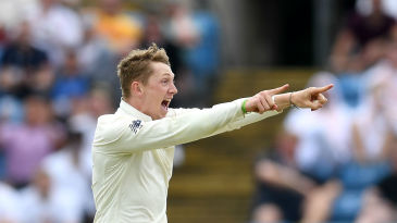 Dom Bess claimed Imam-ul-Haq as his maiden Test wicket