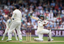 Faheem Ashraf top edged a slog sweep, England v Pakistan, 2nd Test, Headingley, June 3, 2018