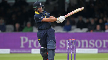 Jonathan Trott in action