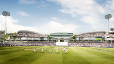 The proposed redesign of the Compton and Edrich Stands at Lord's