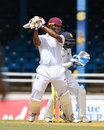 Kieran Powell slaps one behind point off the back foot, West Indies v Sri Lanka, 1st Test, Day 1, Port of Spain, June 6, 2018