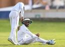 Roshen Silva put down Jason Holder, West Indies v Sri Lanka, 1st Test, Day 1, Port of Spain, June 6, 2018