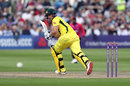 Aaron Finch plays into the leg side, Sussex v Australians, Tour match, Hove, June 7, 2018