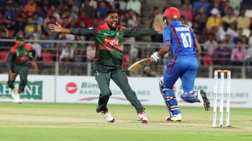 Nazmul Islam took 2 for 18