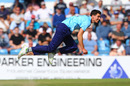 Matthew Fisher goes aerial, Yorkshire v Northants, Royal London Cup, Headingley, June 7, 2018